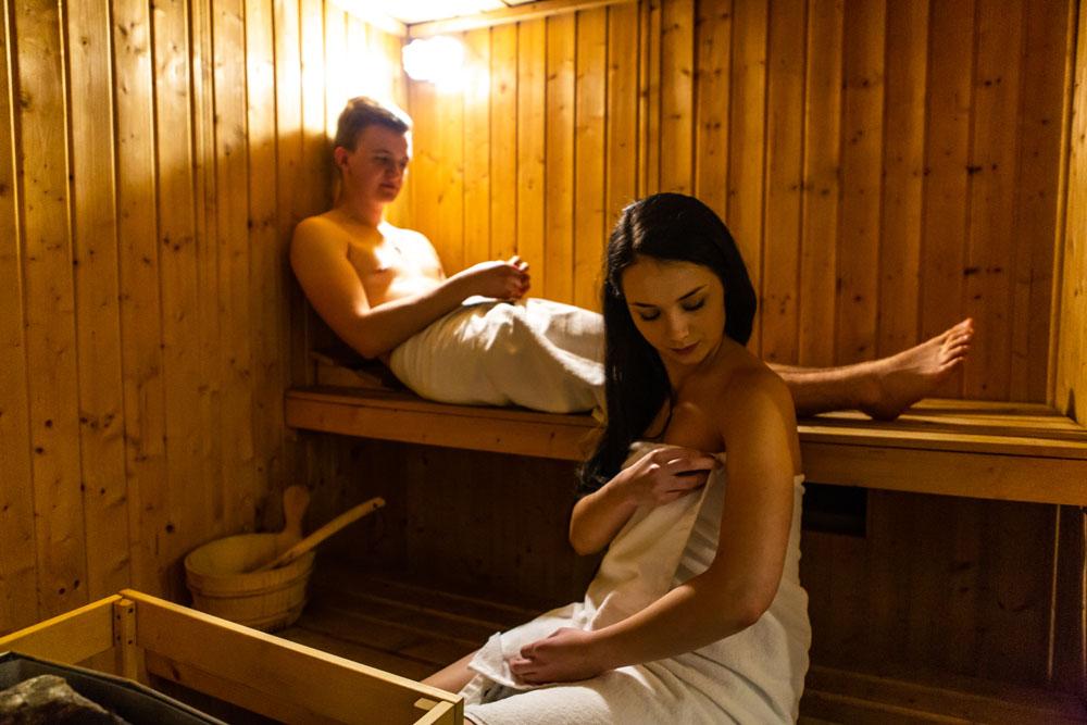 Hotel Lantier Bytom - Strefa SPA - Sauna
