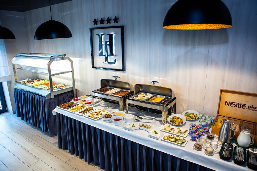 Śniadania hotel lantier bytom